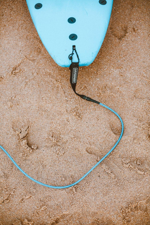 surfboard beach