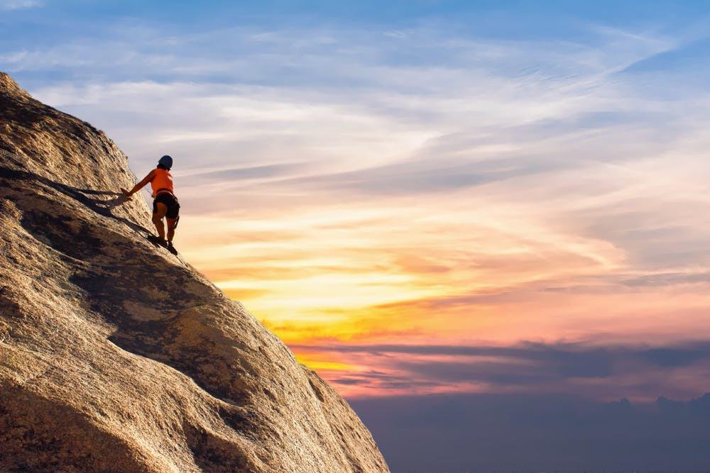 Berg Wandern Sonnenaufgang