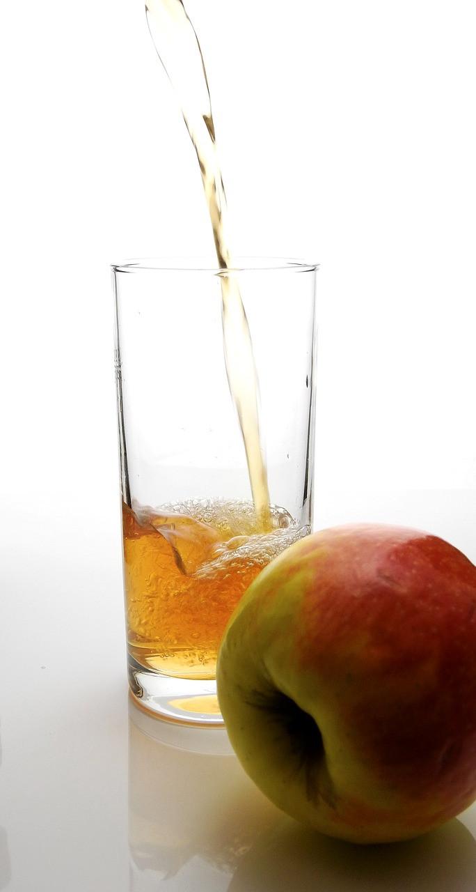 Apfelsaft Apfel Trinken