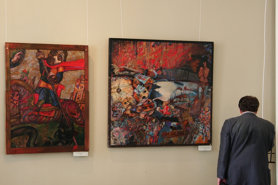 Paintings by Dmitry Ivashintsov at Sheremetev Palace