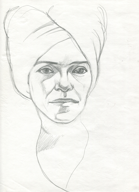 Anna. Portrait
