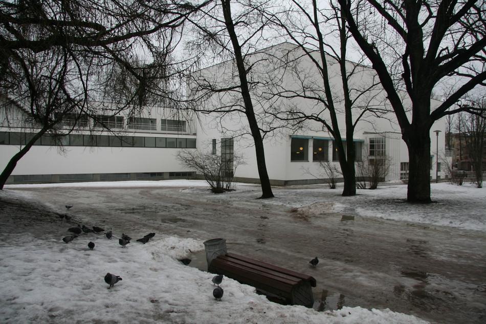 Alvar Aalto City Library in Vyborg.