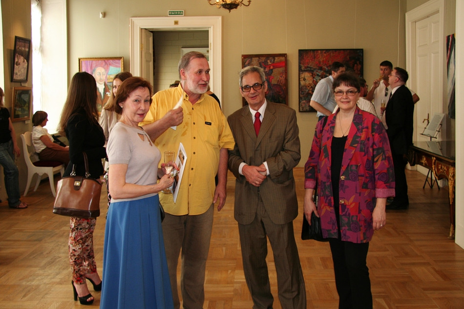 Exhibition at the Museum of Theatre and Music, opening reception