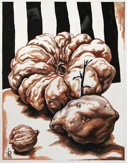 Pumkin and Sweet Potato