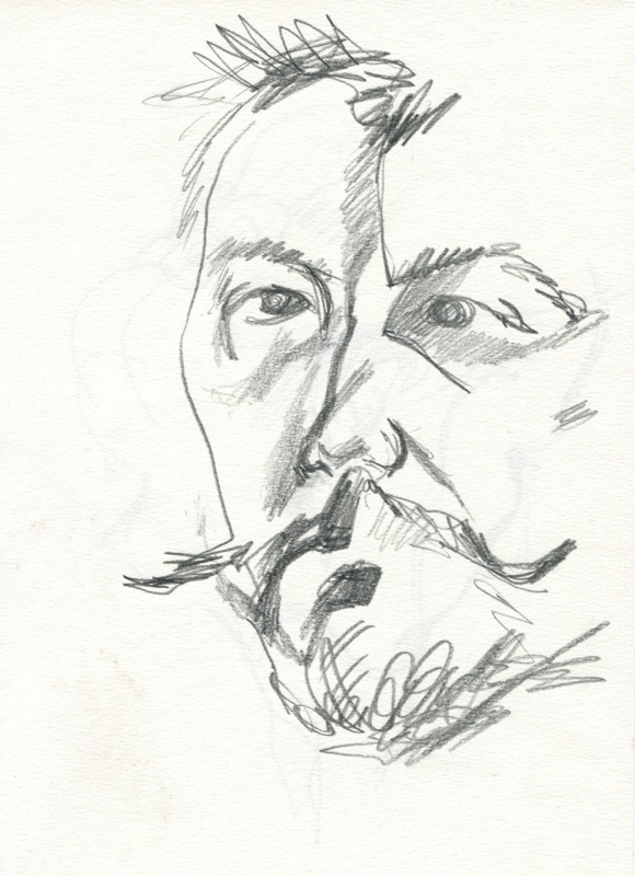 self-portrait, D. Ivashintsov