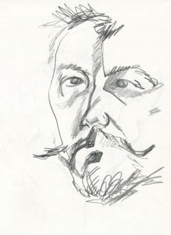 self-portrait, D. Ivashintsov