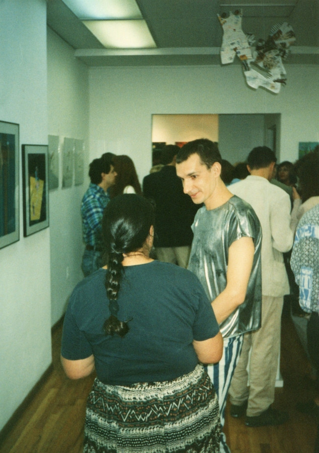 Opening in the Omia Gallery, photo by D. Ivashintsov