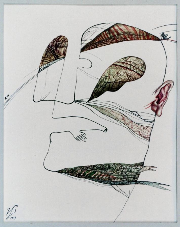 Artwork on paper by artist Dmitry Ivashintsov