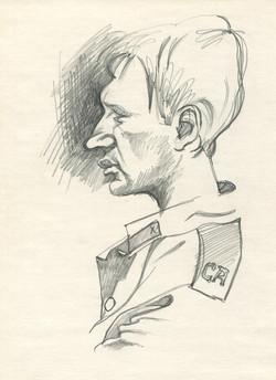 Soldier. Portrait