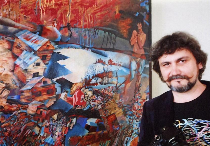 Painter Dmitry Ivashintsov and his work at Sheremetev Palace