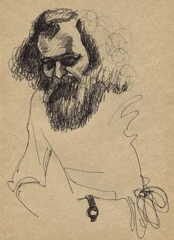 Artist Nicholay Sazhin