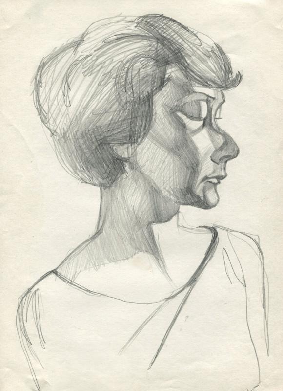 Portrait. Model