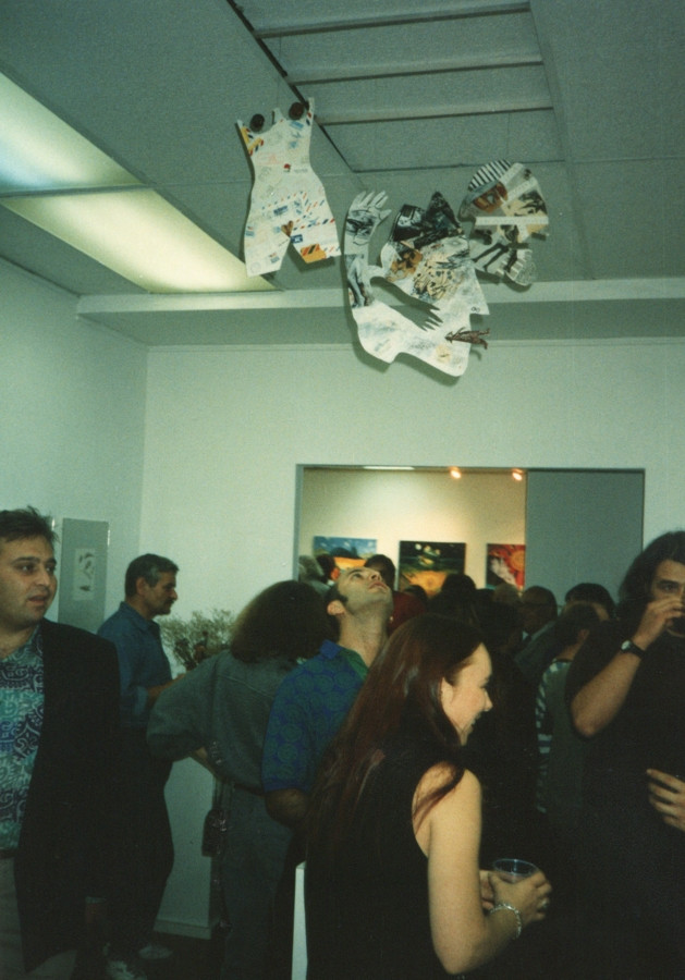 """""""All You Can Eat"""" art exhibition. New York, 1994."""