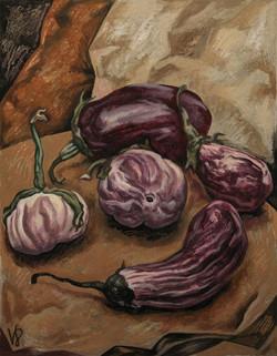 Five Eggplants...