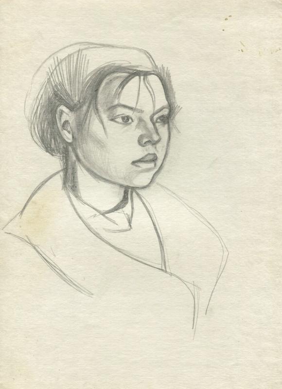 Olga, portrait