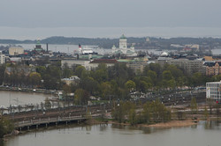 The view of Helsinki