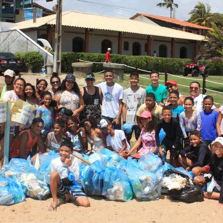 Projeto 'Praia Limpa' estimula preservação ambiental nas praias do litoral sul de Pernambuco