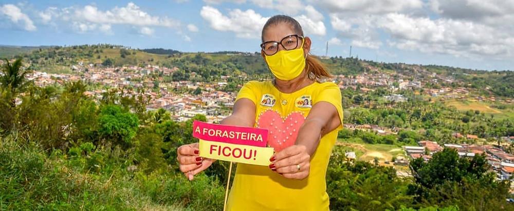 Isabel Hacker, prefeita de Rio Formoso. Créditos: redes sociais