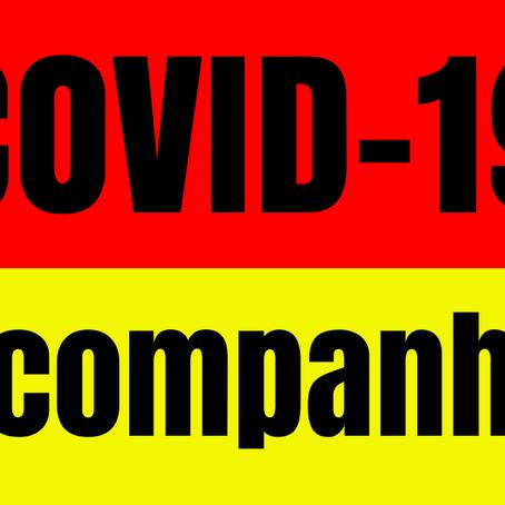 Gráficos: acompanhe o avanço da Covid-19 no litoral sul de Pernambuco