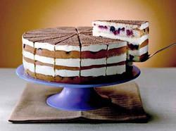 3 Layer TIRAMISU BERRY MOSCATO Cake-Whip