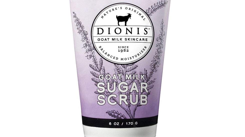 Dionis Goat Milk Skincare Whipped Sugar Scrub (Lavender Blossom, 6 oz)