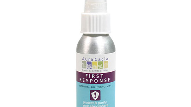 Aura Cacia First Response Mist 2 fl. oz.Extra Protection from germs, virus,