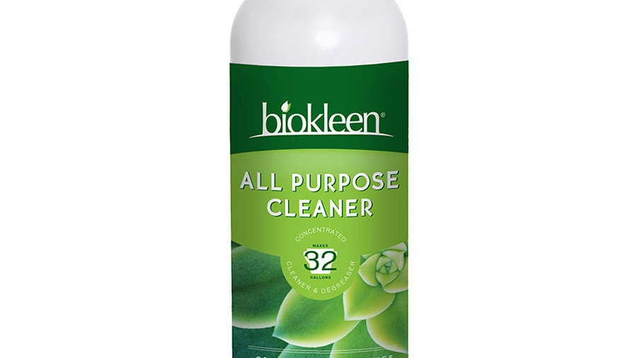 Biokleen All Purpose Cleaner Degreaser Concentrate- just 1 oz per gallon water!!