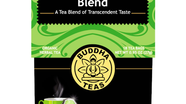 Buddha Teas Divine Immunity Organic Premium Herbal Tea Blend 18 ct