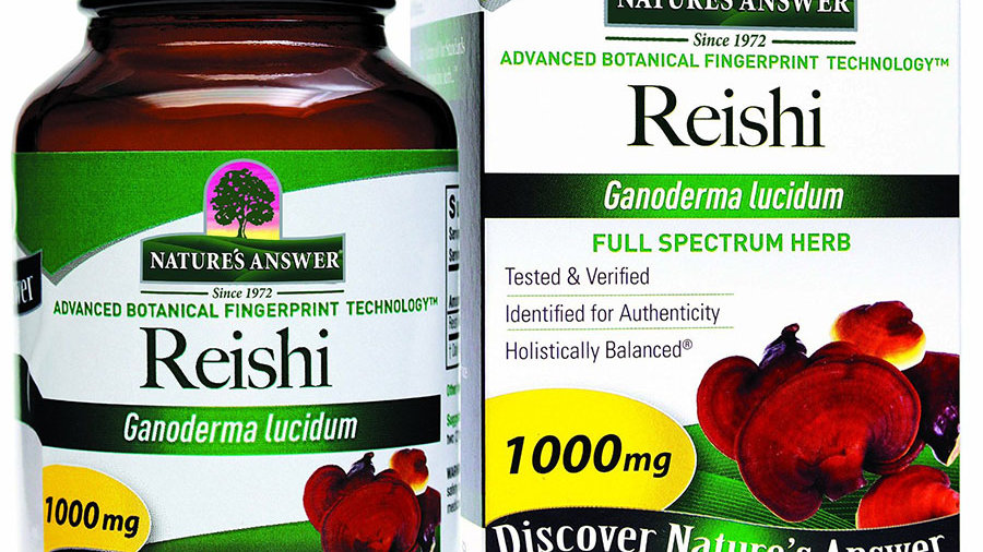 Nature's Answer Reishi Mushroom Mycelia 90 Capsules Immune System Support