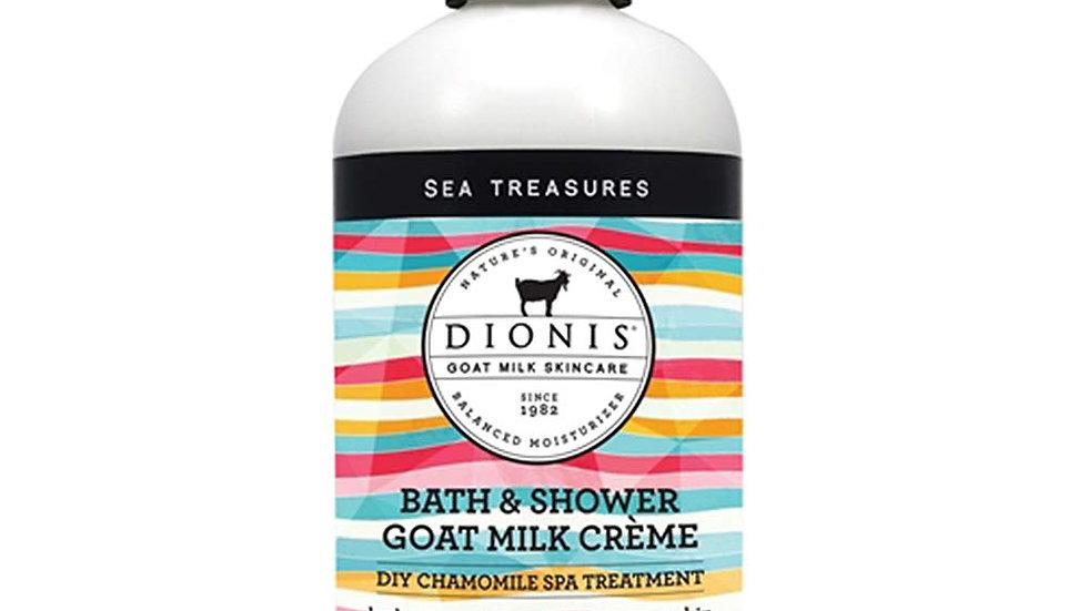 Dionis Goat Milk Skincare Hand & Body Liquid Soap w/ pump Sea Treasures 8.5 oz
