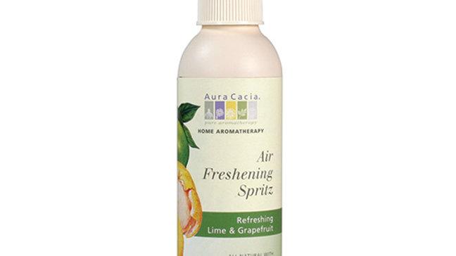 Aura Cacia Lime & Grapefruit Air Freshening Spritz 6 fl. oz. Ready to Use Spray