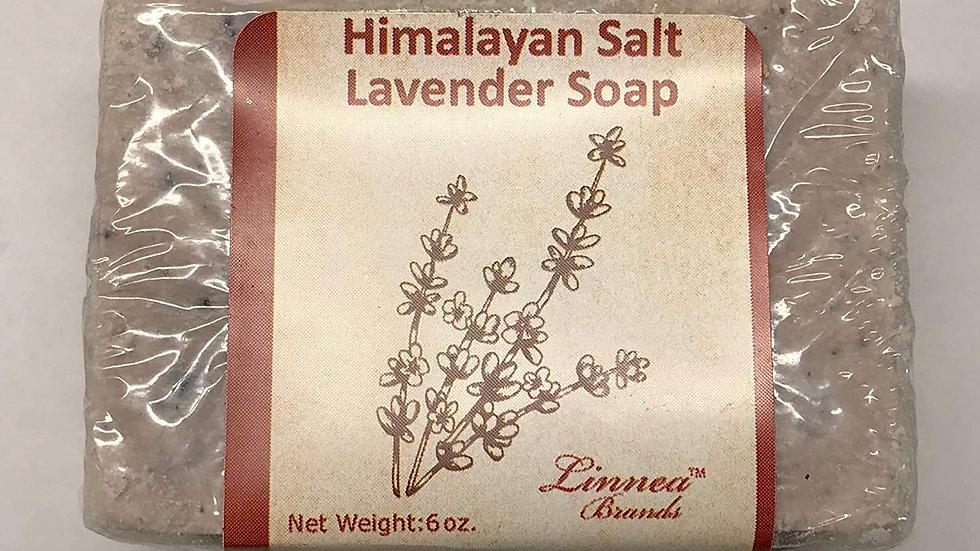 Himalayan Salt Soap - Lavender- Handcrafted-100% ORGANIC