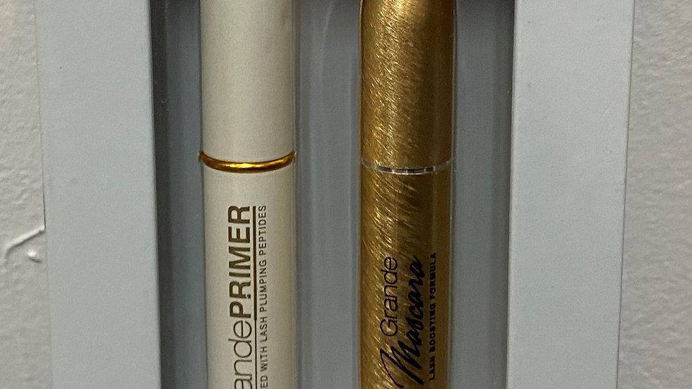 Grande Cosmetics Lash Junkie Duo Set - Lash Boosting Primer and Mascara