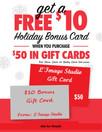 $10 Bonus Gift Card