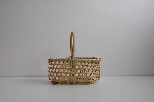 津軽竹籠 りんご手かご 極小
