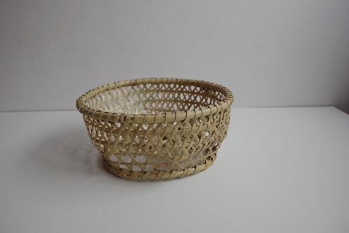 津軽竹籠 丸椀かご 小