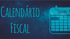 Calendário Fiscal - Outubro 2020