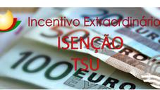 Isenção TSU - Incentivo Extraordinário