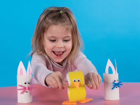 DIY Easter Duck and Bunny