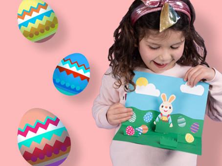 DIY Pop-Up Easter Card