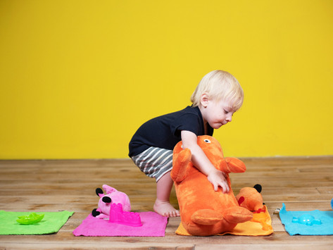 Colorful Toys - Sort and Match Game