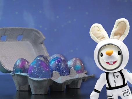 Rice Shaker Easter Egg Painting