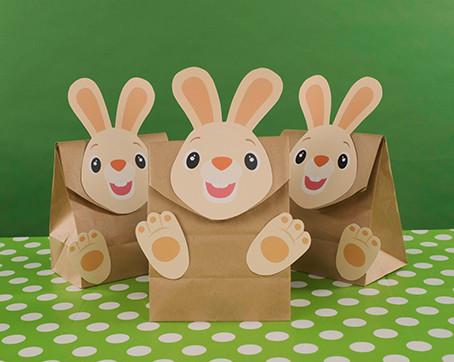 DIY Harry the Bunny Birthday Goodie Bag
