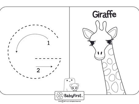 Coloring Pages - Letters G-I