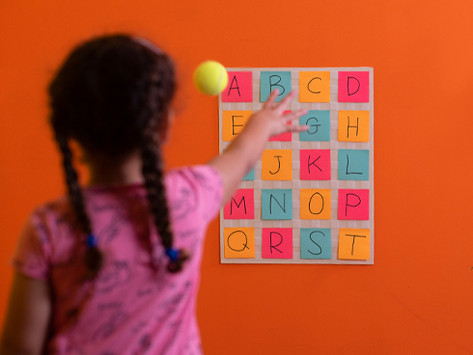 ABC Toss Game