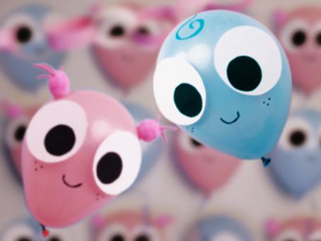 GooGoo GaaGaa Birthday Balloons