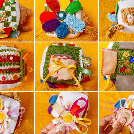 DIY Sensory Block for Toddlers