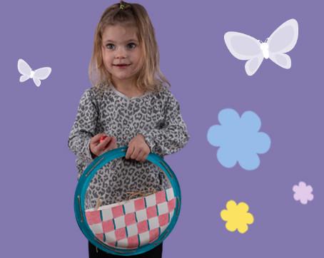DIY Paper Plate Easter Baskets