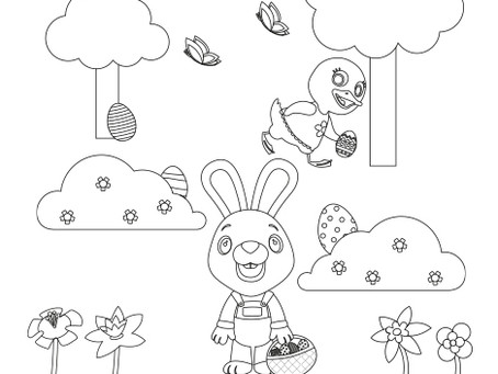 Happy Easter Printable Card