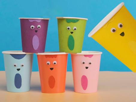 Color Crew Birthday Cups
